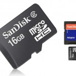 DEAL ALERT:  SanDisk 16GB MicroSDHC Card Class 2 w/ SD Adapter & Jewel Case for $4.99!