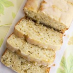 Tasty Treat Tuesday: Lemon Zucchini Loaf with Lemon Glaze