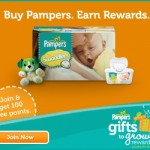 Pampers Gifts to Grow: 20 points for current members and 360 points for NEW members!