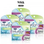 DEAL ALERT:  12-Pack Schick Intuition Plus Quad-Blade Cartridges for $14.99 (78% off)