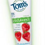 FREEBIE ALERT:  FREE Tom's of Maine Silly Strawberry Children's toothpaste!