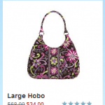 Vera Bradley Sale:  4 popular patterns 50% off (ends 4/29!)