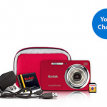 Kodak M532 14MP Digital Camera with Accessories Value Bundle  for $49 (50% off!)