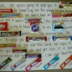 Father's Day Craft: Candy Card