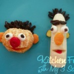 Cooking With Kids Thursday: Bert and Ernie Fruit Snacks!