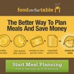 Food on the Table:  FREE meal planning for life!