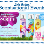 Bath & Body Works Mother's Day Party:  Get a FREE item plus win prizes!