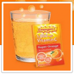 FREEBIE ALERT:  FREE Emergen-C sample!