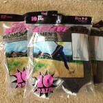 30 pairs of women's socks for $11.99!