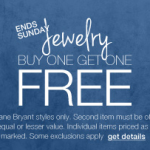 Lane Bryant BOGO FREE jewelry and accessories sale!