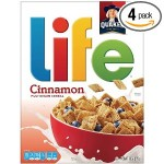 DEAL ALERT:  Get 4 boxes of Life Multigrain Cereal for $8.24 shipped!