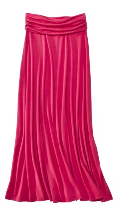 women s mossimo maxi skirt for 15 shipped