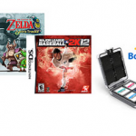 Walmart:  2 Nintendo DS games + bonus carrying case for $30 (177 titles!)