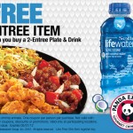 FREE Panda Express entree with purchase! (expires 5/31)