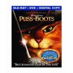 Puss in Boots Blu Ray/DVD combo pack for $11.76 and Kung Fu Panda 2 Blu Ray/DVD combo pack for $13.10
