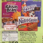 DEAL ALERT:  Nutrigrain bars $1 per box at Walgreens next week!