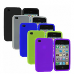 Apple iPhone 4/4s pack of five silicone cases for $4.45 shipped!