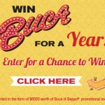 Buca di Beppo Instant Win Game:  Win FREE food for a year!