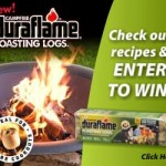 SWEEPS: Win a fire pit and FREE Duraflame logs!