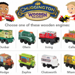 FREE Chuggington Wooden Engine at Toys 'R Us (through 6/30)