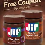 JIF Hazelnut Spreads:  100 winners daily (through 6/9)