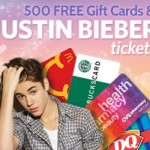 Woman Freebies:  Win Justin Bieber tickets, gift cards, and an iPad!