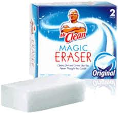 Mr Clean Magic Eraser White Shoes