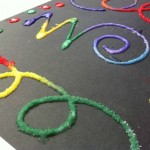 Kids Craft: Raised Salt Painting