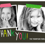 Shutterfly:  Get 12 free 3X5 folded photo thank you cards!
