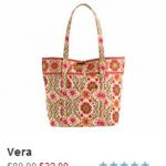 Vera Bradley Summer Sale:  save 60% on select patterns (ends 7/1)