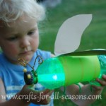 Kids Craft: Pop Bottle Firefly