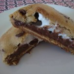 Tasty Treat Tuesday: Smores Stuffed Chocolate Chip Cookies