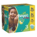 Pampers Baby Dry Diapers Size 3 only $.15 each shipped!