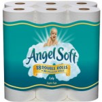 Angel Soft Double Roll Bath Tissue (18 ct) $.24 per roll! **STOCK UP**
