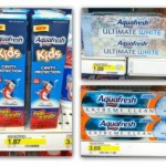 Aquafresh Kids Toothpaste FREE after coupons at Target!