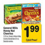 Nature Valley Granola Bars as low as $1.49 per box after coupon!