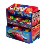 Disney Cars or Fairies Multi-Bin Toy Organizer for $24 (40% off)