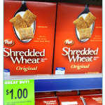 FREEBIE ALERT:  FREE Shredded Wheat cereal!