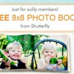 FREEBIE ALERT:  FREE Shutterfly photo book!