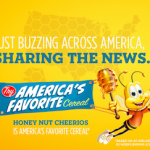 FREEBIE ALERT:  FREE Honey Nut Cheerios!