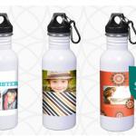 InkGarden:  Custom Stainless Steel Water Bottle only $4! (regularly $15.99)