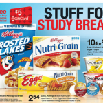 Kellogg's Nutri-Grain Bars $.94 per box after coupons and gift card!