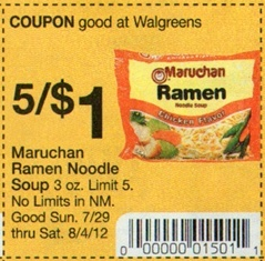 RE: $1.25 Maruchan Ramen Noodles (12-ct)