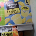 Minute Maid Frozen Treats FREE after coupon at Kroger!