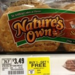 Nature's Own Sandwich Rolls as low as $.75 each after coupons!