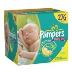 Pampers Baby Dry Diapers as low as $.12 per diaper shipped!
