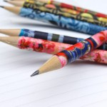 Back To School Craft: Pretty Pencils