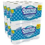 Quilted Northern Soft & Strong Toilet Paper only $.25 per roll shipped!