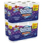 Quilted Northern Ultra Plush 3 Ply Toilet Paper only $.25 per roll shipped!