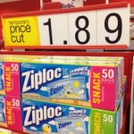 Ziploc bags for $1.39 and Hormel Lunch Meat for $1.46 at Target!